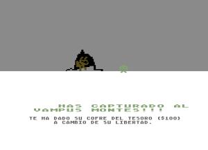 C64 M.U.L.E. Spanish Wampus