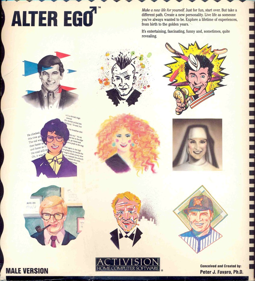 Alter Ego - Male Cover