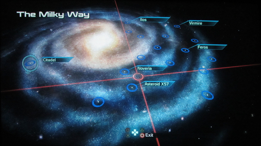 Mass Effect's Galaxy