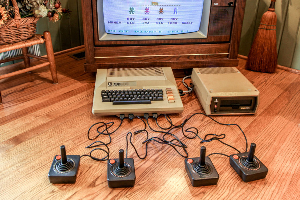 M.U.L.E. on an Atari 800 with 810 Floppy Drive - image from PCWorld